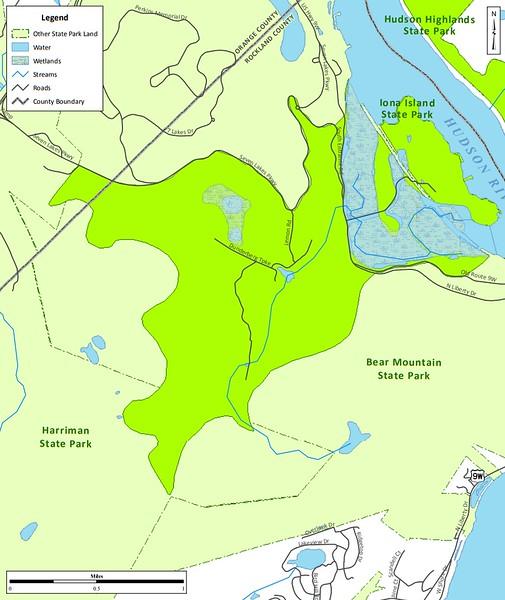 Bear Mountain State Park (Bird Conservation Area)