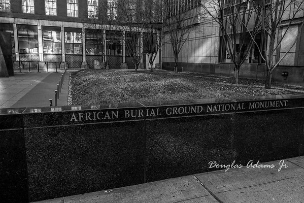 African Burial Grounds #NYC4MLK