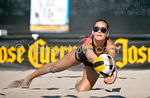 Jose Cuervo Pro Beach Volleyball, Huntington Beach Open, 23 Sep 2012