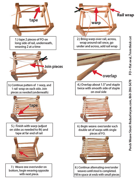 Porch Weave instructions
