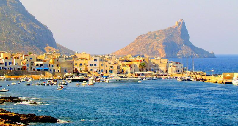 THE ISLAND OF MARETTIMO - EGADI ISLANDS - ITALY