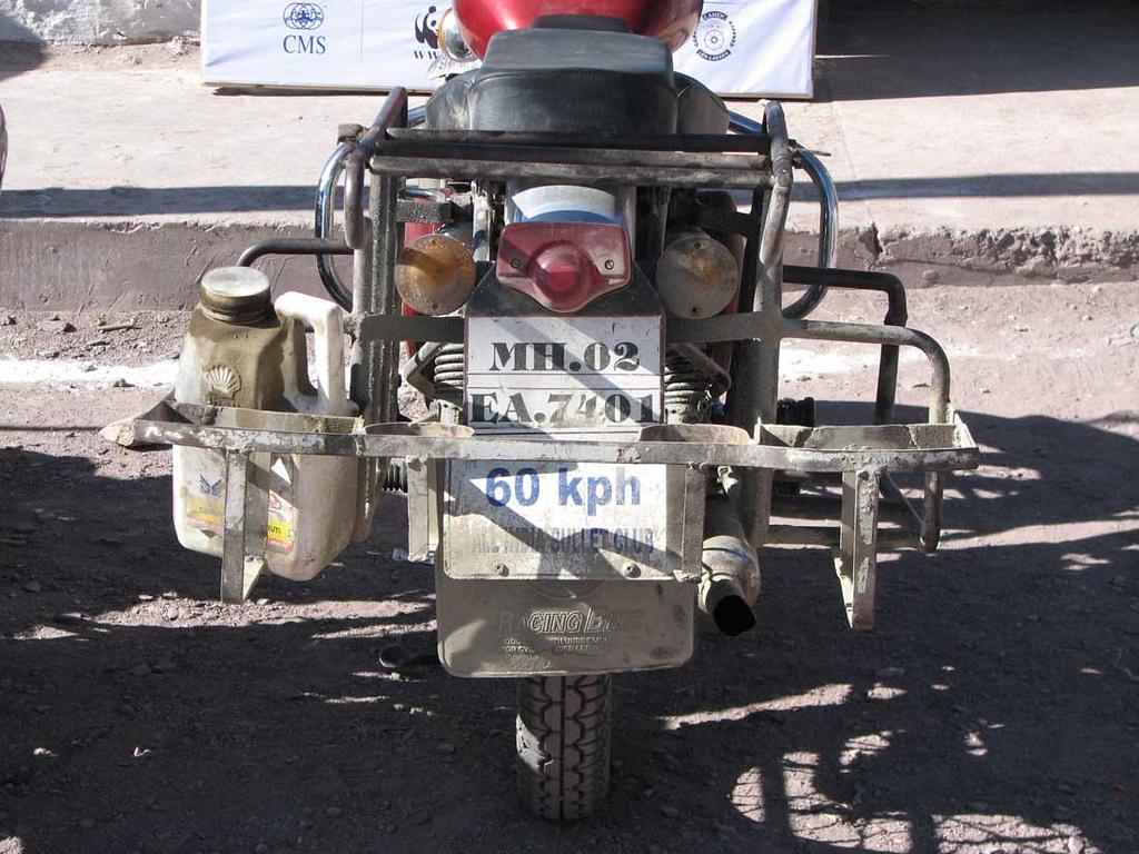 Gaurav Jani's bike...