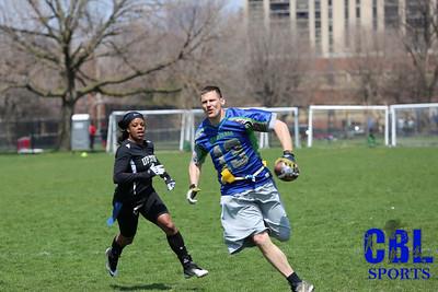 Coed Flag Football Spring 2013, Week 2
