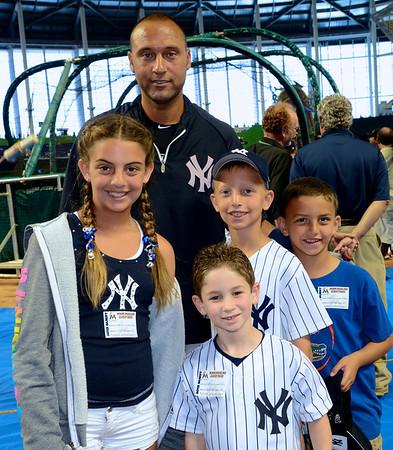2012-04-01 - Marlins Exhbition against Yankees - meeting Derek Jeter
