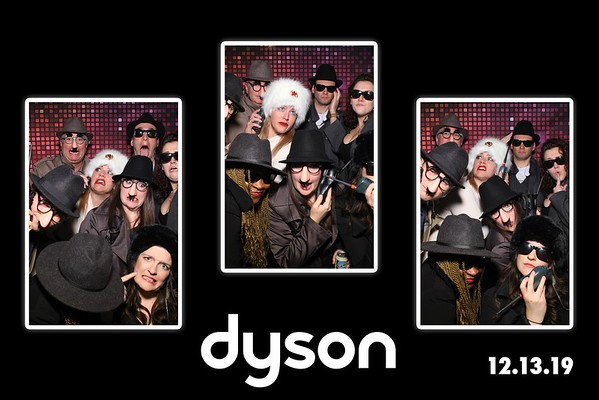 Dyson Holiday Party Mirror Booth Photos 2019