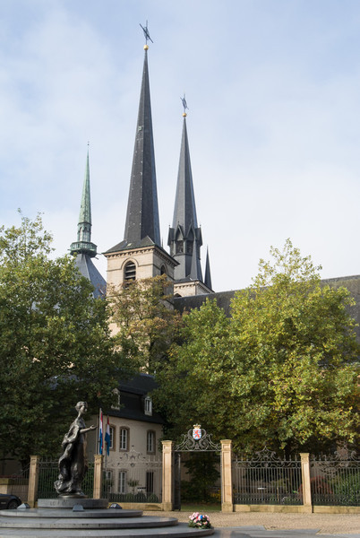 Luxembourg is a compact city and country
