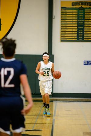 161213 LHS Men's JV Basketball Vs American High School