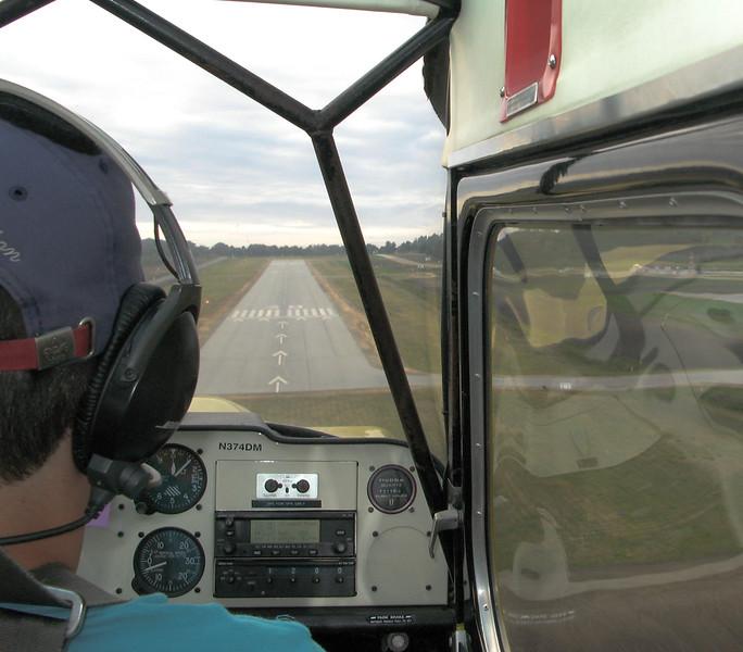 David on final approach