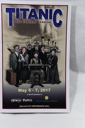 5-5-2017 Titanic @ Uptown Players - Dallas City Performance Hall