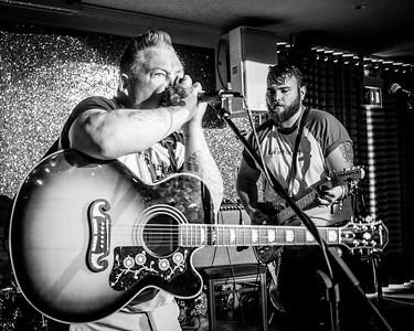 Fat n Furious B&W Welsh Rockabilly Fair 2017