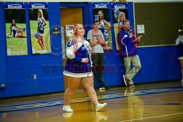 2020 South Davidson Cheer and Basketball Seniors