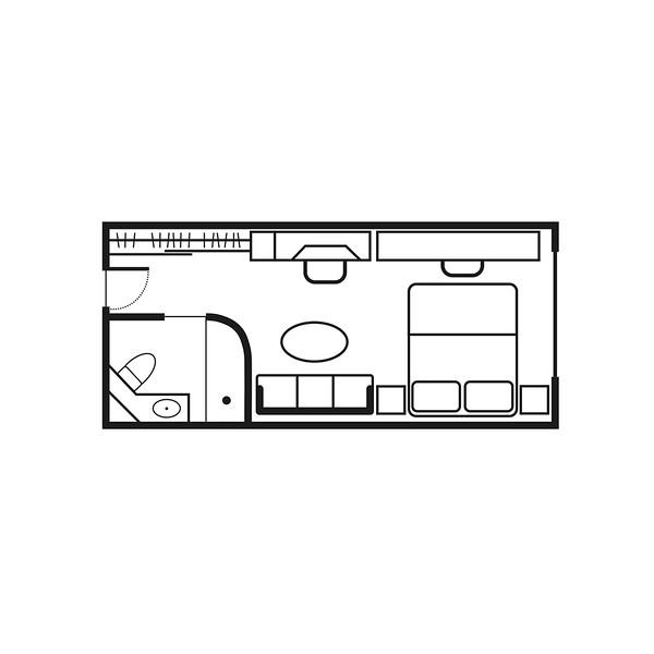 Stateroom Floor plan