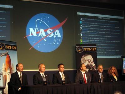 NASA Tweetup (STS-127)