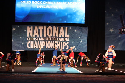 10. Solid Rock Christian Academy Inverness FL Sapphire - Small Youth