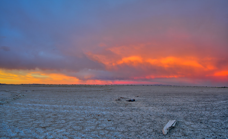silence of the wind... the salt flats...  #utah #bonneville #voigtlander15mm