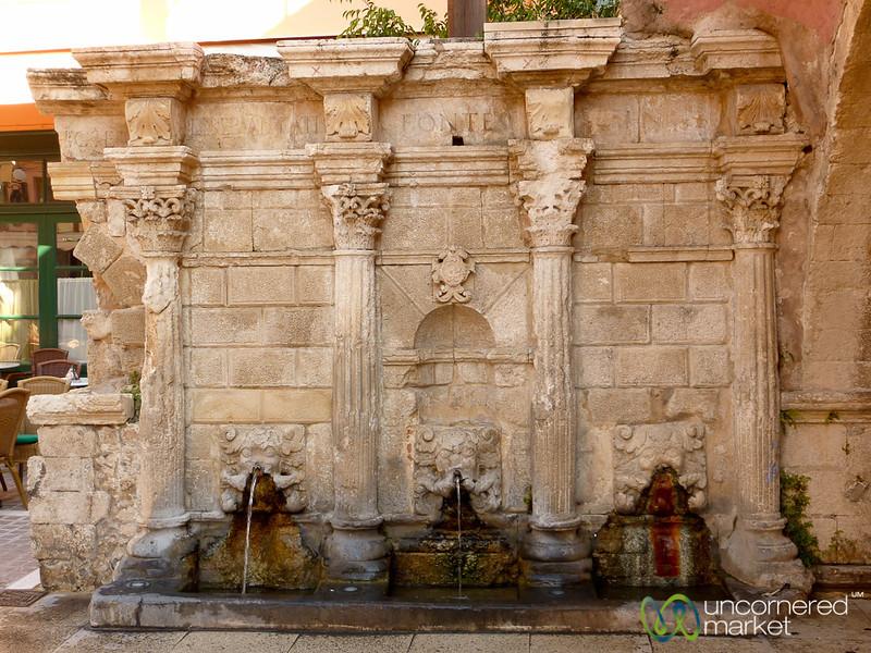 Rimondi Fountain - Rethymnon, Crete