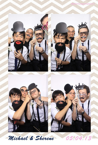 Michael + Sherene (Luxe Photo Booth)