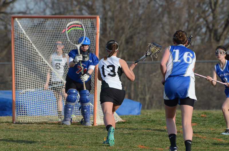 Girls JV Lacrosse April 8 vs North East