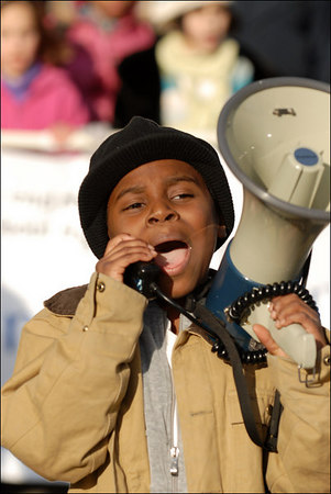 Annual Martin Luther King, Jr., March and Rally, January 15, 2007