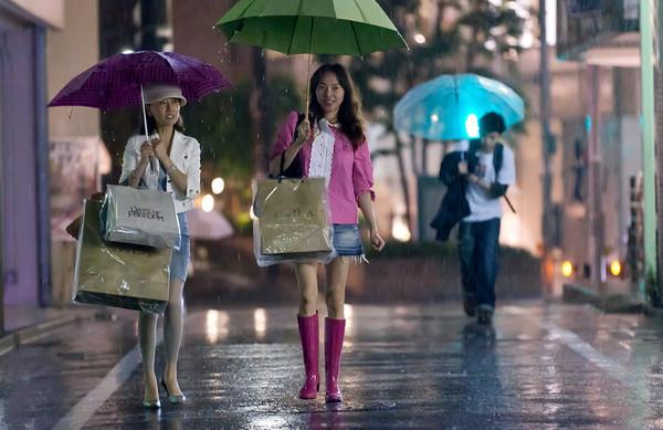 Japan 2011 Tokyo Rain