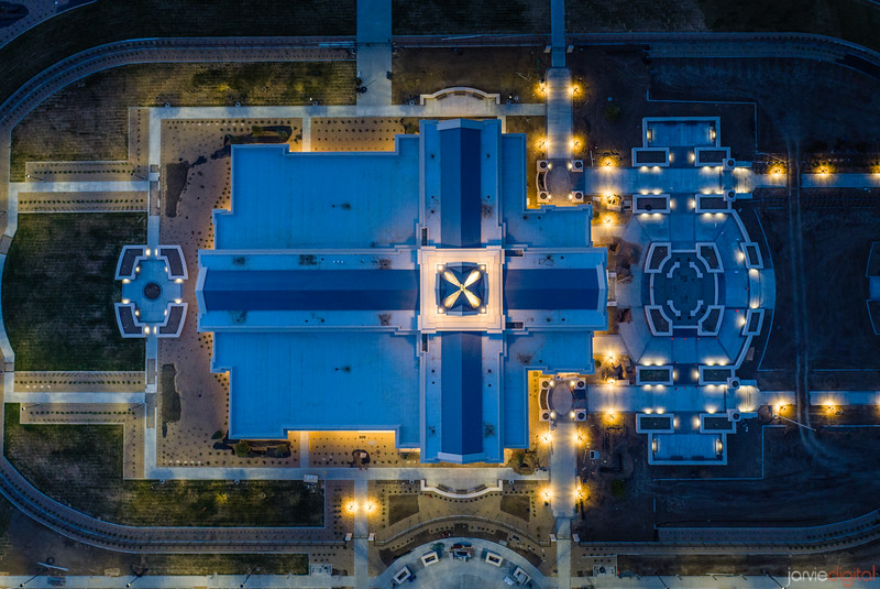 Fort Collins Temple - From above