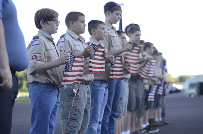 Flag Retirement American Legion Post 44