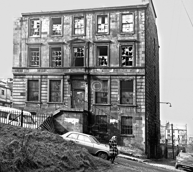 ?Scott St west side from Buccleuch Lane.   March 1974