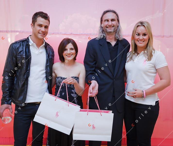 2010 Ralph Lauren Pink Pony - Chadstone - Scott McGregor, Barbara, Alek & Felicity Whelan