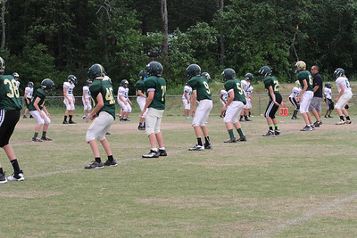 Piney Grove Spring Football - Green & Gold - 5/9/14