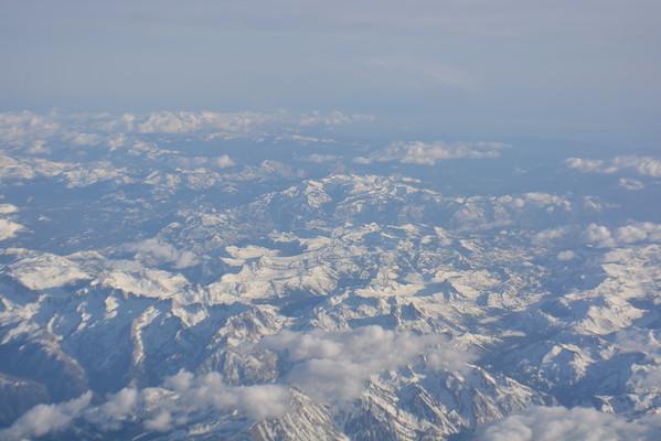 Flying Over The Sierra Nevada, North Of Yosemite