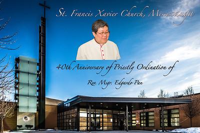 Msgr.Pan 40th Anniversary