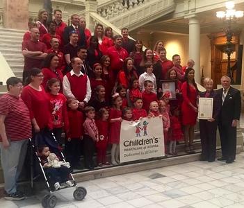 CHD Awareness Week 2015 at Georgia State Capitol