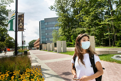 CHSS students with masks