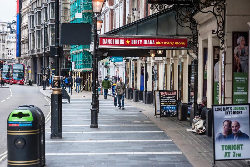 On London streets