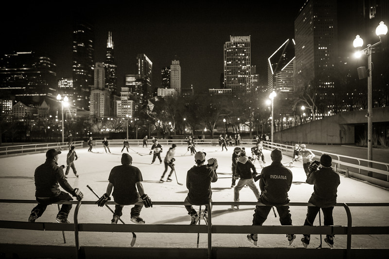 Chicago Outdoor Hockey