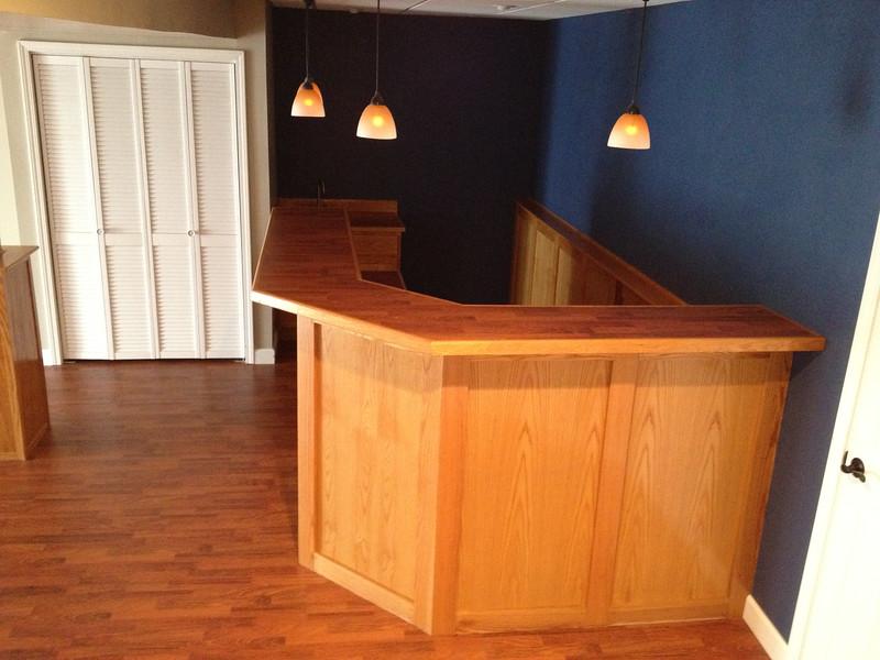 Wet bar downstairs