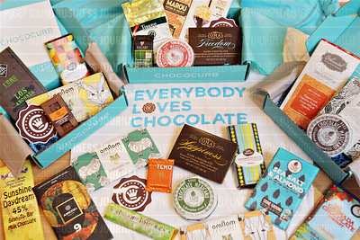 Seattle startup company Chococurb can deliver speciality and often exoctic chocolates from around the world to your doorstep
