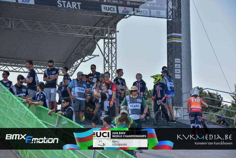 UCI BMX WC BAKU - practise Championship  Friday