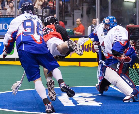Philadelphia Wings @ Toronto Rock 12 April 2014