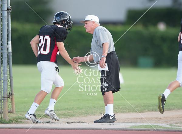 2014-08-15 Football JV+Varsity Lutheran High @ St. John's