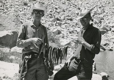 Scout backpack trip circa 1959
