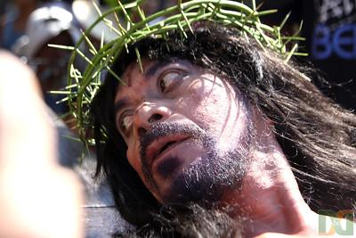 Bargayo's 17th Crucifixion 2012