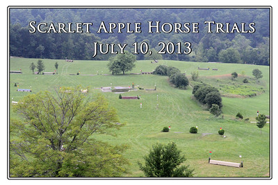 Scarlet Apple Horse Trials, July 10, 2013