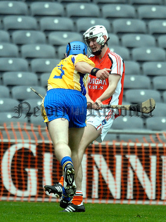 Nicky Rackard Cup Final Armagh V Roscommon. Armaghs Chris McAlinden 07W33N256
