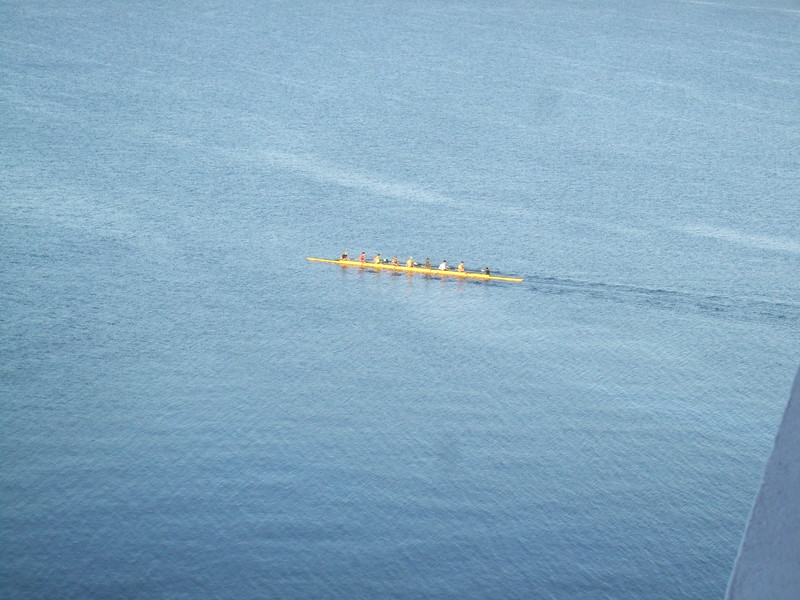 Rowers in Cienfuegos - Sandy Kirkpatrick