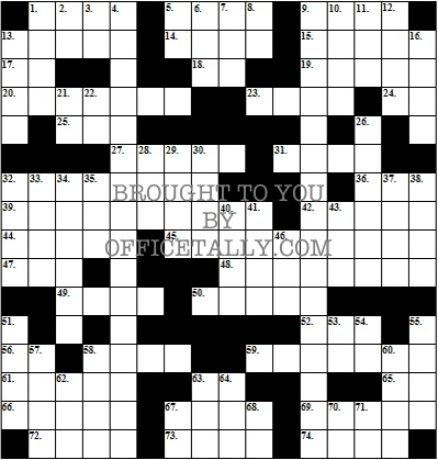 The Office Crossword