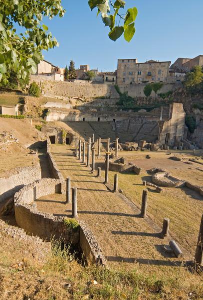 Roman Theater, Volterra, Tuscany, Italy