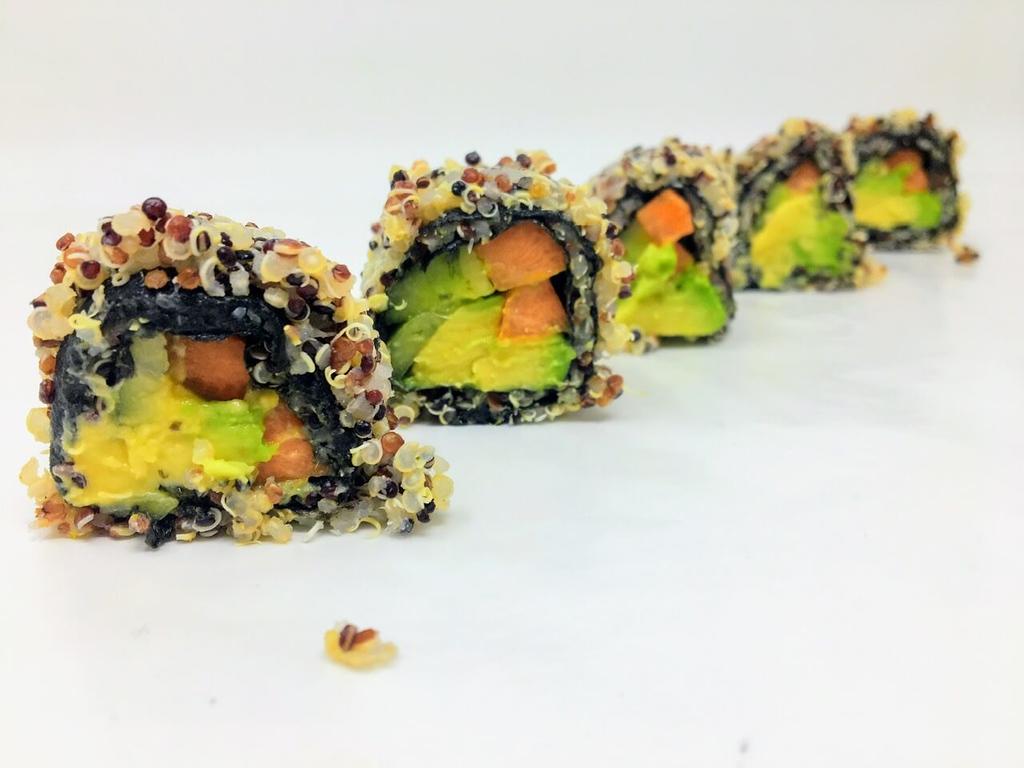 Quinoa Sushi - Vegan Japanese Sushi