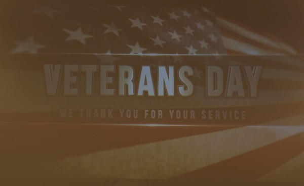 Veterans Day Recognition at IMH Compass Park 11-11-2017