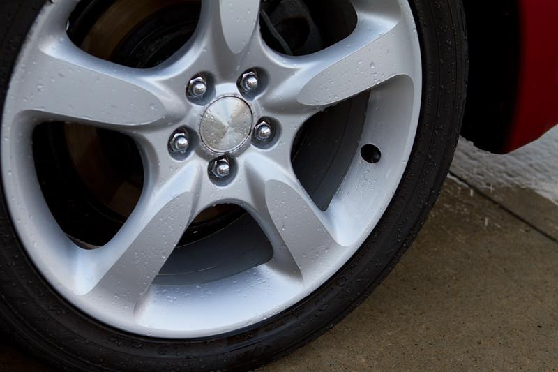 Wheels Cleaned … loving the woolies.